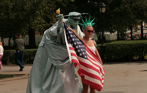 Fake Statue of Liberty