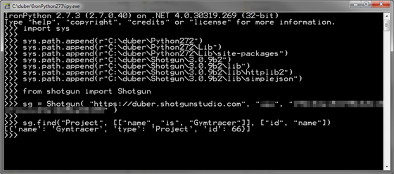 IronPython 2.7.3 Shotgun
