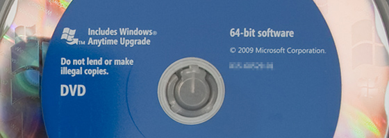 Windows 7 Professional DVDs
