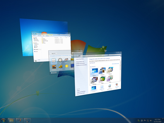 VMware Workstation 7 Running Windows 7 Business x64